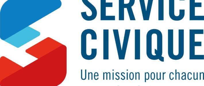 Mission de Service Civique ouverte pour 8 mois