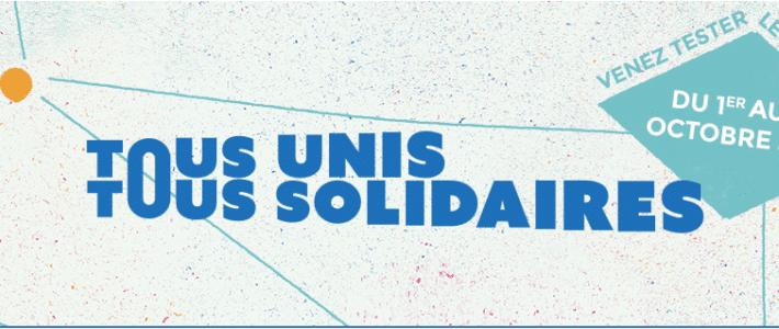 Horizon Parrainage est partenaire de l'opération «Tous unis Tous solidaires»