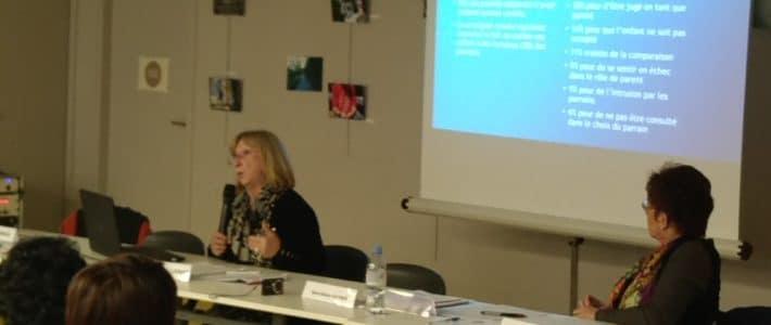 Conférence de Catherine Sellenet sur le parrainage de proximité et les besoins fondamentaux de l'enfant.