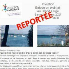 REPORTÉE ! Balade au bord du Grand Large le 27 mars